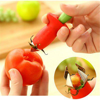 Strawberry Hullers Fruits Digging Tools Tomato Nuclear Corers Stalks Stem Remover Fruit Knife Kitchen Accessory