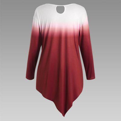 Autumn New Printing Irregular Long-Sleeved Large Size Female T-ShirtTees<br>Autumn New Printing Irregular Long-Sleeved Large Size Female T-Shirt<br><br>Clothing Style: T-Shirt<br>Composition: ??<br>Elasticity: Micro-elastic<br>Material: Cotton Blend<br>Package Contents: 1 x T-Shirt<br>Pattern Style: Print<br>Sleeve Length: Long Sleeves<br>Weight: 0.3000kg