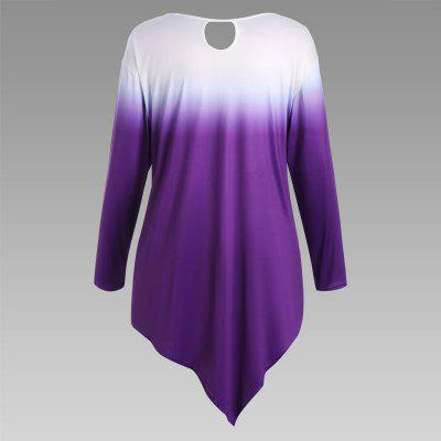 Autumn New Printing Irregular Long-Sleeved Large Size Female T-ShirtTees<br>Autumn New Printing Irregular Long-Sleeved Large Size Female T-Shirt<br><br>Clothing Style: T-Shirt<br>Composition: ??<br>Elasticity: Micro-elastic<br>Material: Cotton Blend<br>Package Contents: 1 x T-Shirt<br>Pattern Style: Print<br>Sleeve Length: Long Sleeves<br>Weight: 0.2300kg