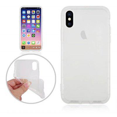 Shockproof Clear Transparent Soft Flexible Tpu Back Cover Case for Iphone x