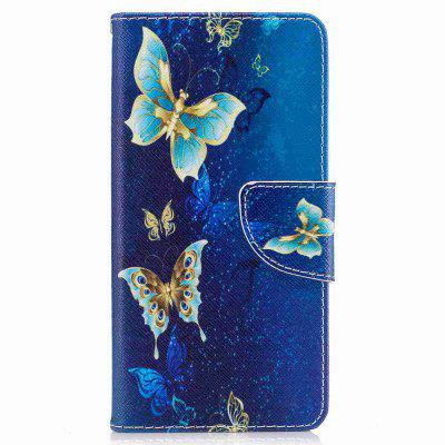 Buy Golden Butterfly Painted Pu Phone Case for Huawei P10, COLORMIX, Mobile Phones, Cell Phone Accessories, Cases & Leather for $6.42 in GearBest store