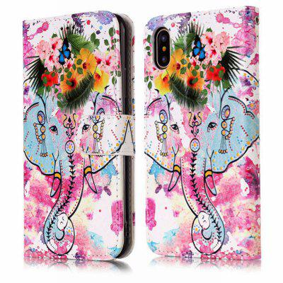 Flower Like Varnish Relief Pu Phone Case for Iphone xiPhone Cases/Covers<br>Flower Like Varnish Relief Pu Phone Case for Iphone x<br><br>Color: Assorted Colors<br>Compatible for Apple: iPhone X<br>Features: Cases with Stand, With Credit Card Holder, Dirt-resistant, Wallet Case<br>Material: PU<br>Package Contents: 1 x Phone Case<br>Package size (L x W x H): 15.00 x 7.50 x 1.50 cm / 5.91 x 2.95 x 0.59 inches<br>Package weight: 0.0640 kg<br>Style: Novelty