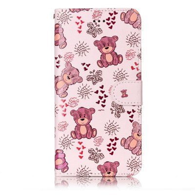 Bear Varnish Relief Pu Phone Case for Iphone 8 Plus 7 PlusiPhone Cases/Covers<br>Bear Varnish Relief Pu Phone Case for Iphone 8 Plus 7 Plus<br><br>Color: Assorted Colors<br>Compatible for Apple: iPhone X<br>Features: Cases with Stand, With Credit Card Holder, Dirt-resistant, Wallet Case<br>Material: PU<br>Package Contents: 1 x Phone Case<br>Package size (L x W x H): 16.00 x 8.50 x 1.50 cm / 6.3 x 3.35 x 0.59 inches<br>Package weight: 0.0530 kg<br>Style: Novelty