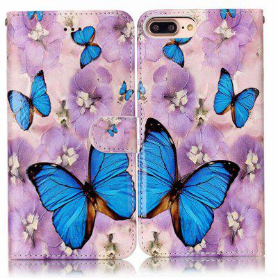 Purple Flower Butterfly Varnish Relief Pu Phone Case for Iphone 8 Plus 7 PlusiPhone Cases/Covers<br>Purple Flower Butterfly Varnish Relief Pu Phone Case for Iphone 8 Plus 7 Plus<br><br>Color: Assorted Colors<br>Compatible for Apple: iPhone 7 Plus, iPhone 8 Plus<br>Features: Cases with Stand, With Credit Card Holder, Dirt-resistant, Wallet Case<br>Material: PU<br>Package Contents: 1 x Phone Case<br>Package size (L x W x H): 16.00 x 8.50 x 1.50 cm / 6.3 x 3.35 x 0.59 inches<br>Package weight: 0.0530 kg<br>Style: Novelty