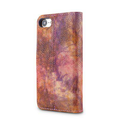 Wkae Forest Series Colorful Paiting Litchi Texture Premium Pu Leather Horizontal Flip Stand Wallet Case Cover with Card Slots for Iphone 7 And 8 mercury goospery milano diary wallet leather mobile case for iphone 7 plus 5 5 grey