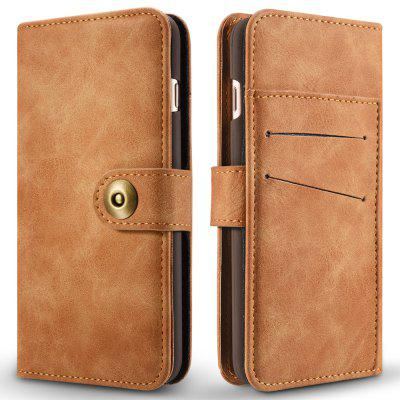 Wkae Retro Style Detachable Magnetic Leather Case Cover with Large Capity Card Cash Slots And Secure Rivet Buckle for Iphone 7 Plus And 8 PlusiPhone Cases/Covers<br>Wkae Retro Style Detachable Magnetic Leather Case Cover with Large Capity Card Cash Slots And Secure Rivet Buckle for Iphone 7 Plus And 8 Plus<br><br>Compatible for Apple: iPhone 7 Plus, iPhone 8 Plus<br>Features: Cases with Stand, With Credit Card Holder, Anti-knock, Dirt-resistant, FullBody Cases<br>Material: TPU, PU Leather<br>Package Contents: 1 x Phone Case<br>Package size (L x W x H): 20.00 x 15.00 x 2.50 cm / 7.87 x 5.91 x 0.98 inches<br>Package weight: 0.1700 kg<br>Product size (L x W x H): 18.00 x 10.00 x 2.00 cm / 7.09 x 3.94 x 0.79 inches<br>Product weight: 0.1500 kg<br>Style: Vintage, Mixed Color