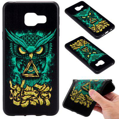 3D Embossed Color Pattern TPU Soft Back Case for Samsung Galaxy A3 2016