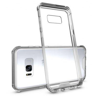 Transparent Surface Shockproof Back PC Case for Samsung Galaxy S8 Plus