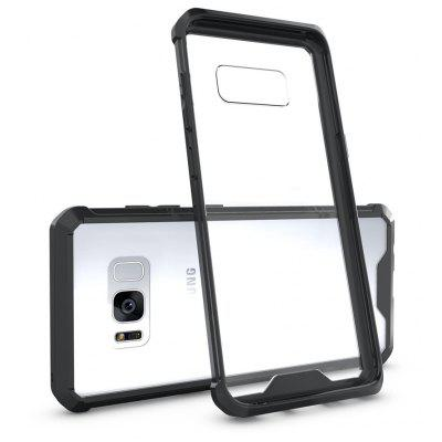 Transparent Surface Shockproof Back PC Case for Samsung Galaxy S8