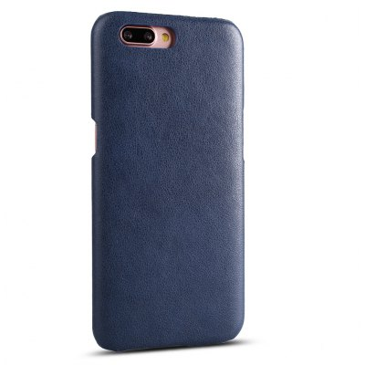 Buy CADETBLUE Retro Style Cow Leather Hard Back Case for OPPO R11 Plus for $8.99 in GearBest store