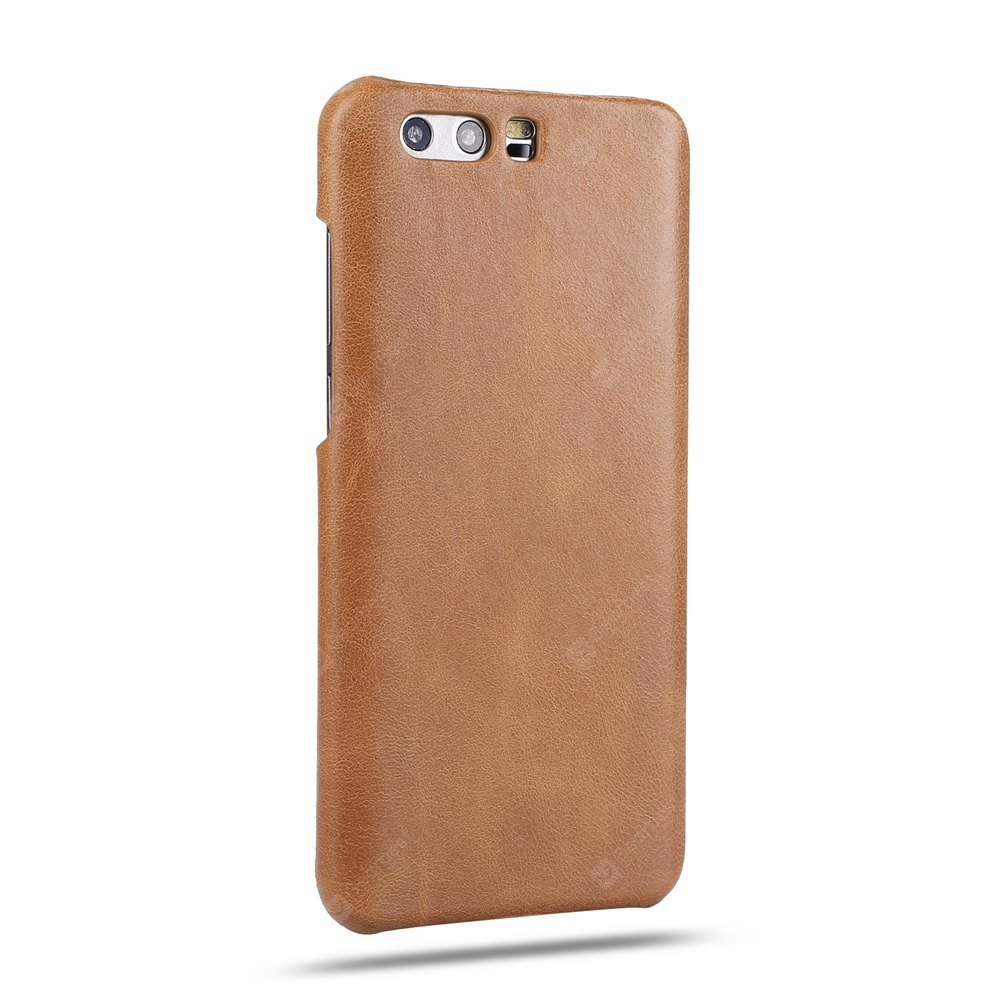 Retro Style Cow Leather Hard Back Case for Huawei Honor 9