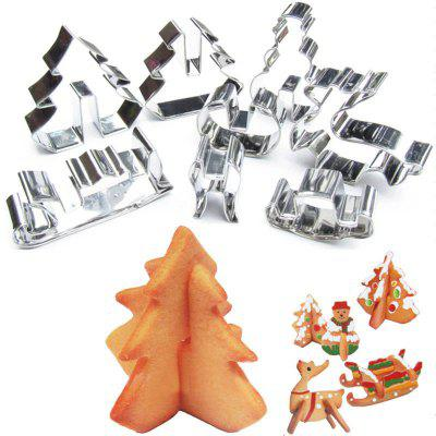 Hoard 8PCS 3D Christmas Scenario Cookie Cutter Mold Set Stainless Steel Fondant Cake MouldCake Molds<br>Hoard 8PCS 3D Christmas Scenario Cookie Cutter Mold Set Stainless Steel Fondant Cake Mould<br><br>Available Color: Silver<br>Material: Stainless Steel<br>Package Contents: 8 x Cookies Cutter<br>Package size (L x W x H): 15.00 x 10.00 x 3.00 cm / 5.91 x 3.94 x 1.18 inches<br>Package weight: 0.0980 kg<br>Product size (L x W x H): 15.00 x 10.00 x 3.00 cm / 5.91 x 3.94 x 1.18 inches<br>Product weight: 0.0980 kg<br>Type: Cookware