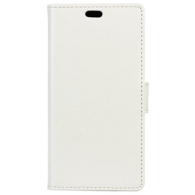 Buy WHITE KaZiNe Luxury PU Leather Silicon Magnetic Dirt Resistant Phone Bags Cases for HUAWEI Honor G9 for $4.40 in GearBest store