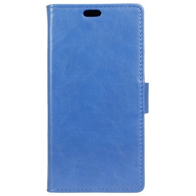 Buy BLUE KaZiNe Luxury PU Leather Silicon Magnetic Dirt Resistant Phone Bags Cases for HUAWEI Honor G9 for $4.40 in GearBest store