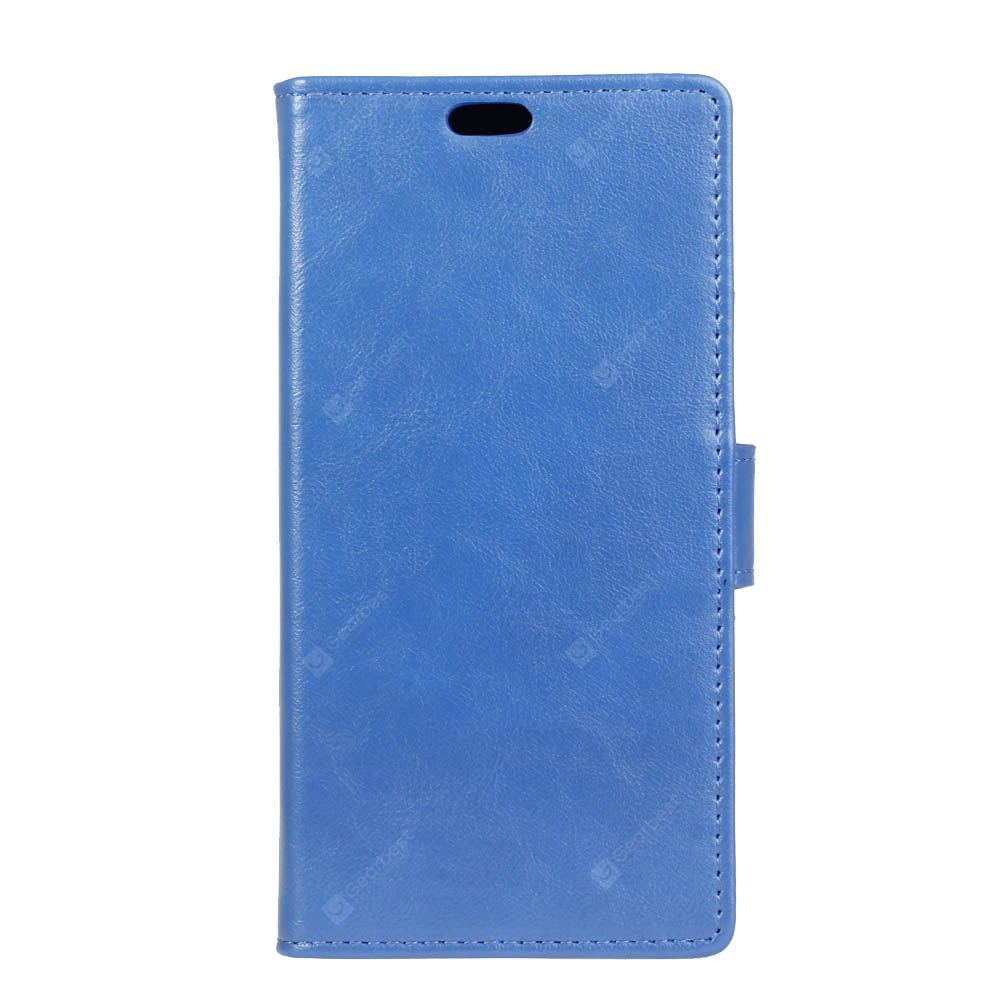 BLUE KaZiNe Luxury PU Leather Silicon Magnetic Dirt Resistant Phone Bags Cases for HUAWEI Honor G9