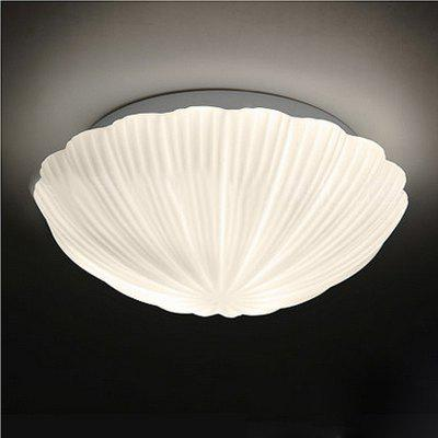 JUEJA Simple Shell Shape LED 85 - 265V Ceiling LightCeiling Lights<br>JUEJA Simple Shell Shape LED 85 - 265V Ceiling Light<br><br>Bulb Base: E27<br>Bulb Included: No<br>Dimmable: No<br>Features: Eye Protection, Designers<br>Fixture Height ( CM ): 10<br>Fixture Material: Acrylic<br>Fixture Width ( CM ): 35<br>Number of Bulb Sockets: 3<br>Number of Tiers: Single Tier<br>Package Contents: 1 x Ceiling Light<br>Package size (L x W x H): 38.00 x 38.00 x 15.00 cm / 14.96 x 14.96 x 5.91 inches<br>Package weight: 3.0000 kg<br>Product size (L x W x H): 35.00 x 35.00 x 10.00 cm / 13.78 x 13.78 x 3.94 inches<br>Product weight: 2.0000 kg<br>Remote Control Supported: No<br>Shade Material: Acrylic<br>Stepless Dimming: No<br>Style: Simple Style<br>Suggested Room Size: 10 - 15?,15 - 20?<br>Suggested Space Fit: Bedroom,Dining Room,Living Room,Office<br>Type: Ceiling Light<br>Voltage ( V ): AC85V - 265V