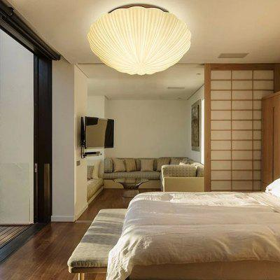 JUEJA Simple Shell Shape LED 85 - 265V Ceiling Light