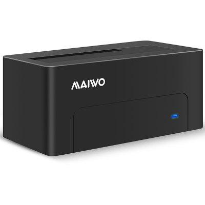 Maiwo K308new 5GBPS USB 3.0 для док-станции для жестких дисков SATA для 2.5 / 3.5-дюймового Sata Hdd Black