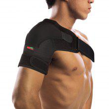 Mumian G02 4 Direction Adjustable Sports Single Shoulder Brace Support Strap Wrap Belt Band Pad - Right