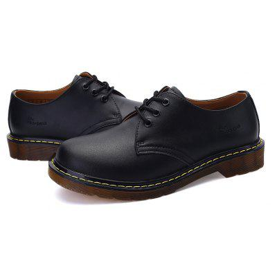 Couple Shoes Martin Working Fashion British Flats Classic Leather ShoesFormal Shoes<br>Couple Shoes Martin Working Fashion British Flats Classic Leather Shoes<br><br>Available Size: 39-44<br>Closure Type: Lace-Up<br>Embellishment: None<br>Gender: Unisex<br>Outsole Material: Rubber<br>Package Contents: 1? Pair of Shoes<br>Pattern Type: Others<br>Season: Winter<br>Toe Shape: Round Toe<br>Toe Style: Closed Toe<br>Upper Material: Genuine Leather<br>Weight: 1.2000kg