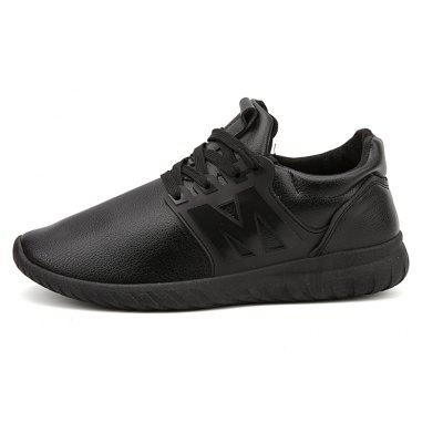 Solid Color Lace-Up Letter Mens Sport ShoesMen's Sneakers<br>Solid Color Lace-Up Letter Mens Sport Shoes<br><br>Available Size: 39-44<br>Closure Type: Lace-Up<br>Embellishment: None<br>Gender: For Men<br>Outsole Material: Rubber<br>Package Contents: 1? Pair of Shoes<br>Pattern Type: Solid<br>Season: Spring/Fall<br>Toe Shape: Round Toe<br>Toe Style: Closed Toe<br>Upper Material: Leather<br>Weight: 1.2000kg