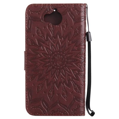 Sun Flower Printing Design Pu Leather Flip Wallet Lanyard Protective Case for Huawei Y5 (2017)Cases &amp; Leather<br>Sun Flower Printing Design Pu Leather Flip Wallet Lanyard Protective Case for Huawei Y5 (2017)<br><br>Color: Rose Gold,Pink,Red,Blue,Green,Purple,Brown,Gray<br>Features: Cases with Stand, With Credit Card Holder, With Lanyard, Anti-knock<br>Mainly Compatible with: HUAWEI<br>Material: TPU, PU Leather<br>Package Contents: 1 x Phone Case<br>Package size (L x W x H): 19.00 x 12.00 x 2.00 cm / 7.48 x 4.72 x 0.79 inches<br>Package weight: 0.1000 kg<br>Style: Floral