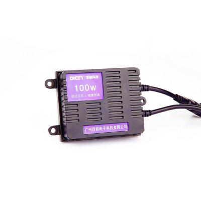 Dicen New Product 12V 100W Car Hid Ballast Ac Ballast - Black