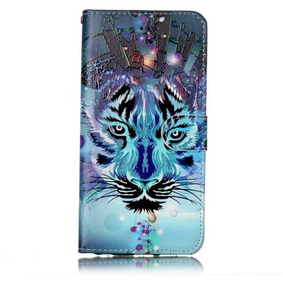 Wolf Varnish Relief Pu Phone Case for Iphone 6S Plus / 6 Plus icarer wallet genuine leather phone stand cover for iphone 6s plus 6 plus marsh camouflage