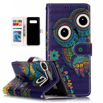 National Wind Owl Varnish Relief Pu Phone Case for Samsung Galaxy Note 8Samsung Note Series<br>National Wind Owl Varnish Relief Pu Phone Case for Samsung Galaxy Note 8<br><br>Color: Assorted Colors<br>Compatible for Samsung: Samsung note 8<br>Features: Cases with Stand, With Credit Card Holder, Dirt-resistant<br>For: Samsung Mobile Phone<br>Material: TPU, PU Leather<br>Package Contents: 1 x<br>Package size (L x W x H): 17.00 x 8.00 x 1.50 cm / 6.69 x 3.15 x 0.59 inches<br>Package weight: 0.0700 kg<br>Style: Novelty