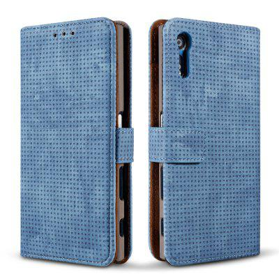 Wkae Retro Matte Breatheable Air-mesh PU Leather Wallet Case Cover with Kickstand Card Slots for Sony Xperia XZCases &amp; Leather<br>Wkae Retro Matte Breatheable Air-mesh PU Leather Wallet Case Cover with Kickstand Card Slots for Sony Xperia XZ<br><br>Compatible Model: Sony Xperia XZ<br>Features: Anti-knock, With Credit Card Holder, Dirt-resistant, Cases with Stand, Full Body Cases<br>Mainly Compatible with: Sony<br>Material: PU Leather, TPU, TPU<br>Package Contents: 1 x Phone Case, 1 x Phone Case<br>Package size (L x W x H): 20.00 x 15.00 x 2.50 cm / 7.87 x 5.91 x 0.98 inches, 20.00 x 15.00 x 2.50 cm / 7.87 x 5.91 x 0.98 inches<br>Package weight: 0.1700 kg, 0.1700 kg<br>Product Size(L x W x H): 18.00 x 10.00 x 2.00 cm / 7.09 x 3.94 x 0.79 inches, 18.00 x 10.00 x 2.00 cm / 7.09 x 3.94 x 0.79 inches<br>Product weight: 0.1500 kg, 0.1500 kg<br>Style: Vintage, Vintage, Solid Color, Solid Color
