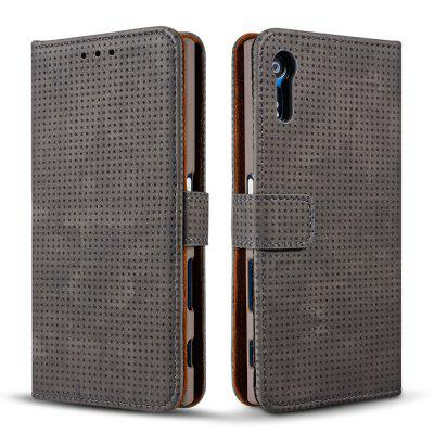 Wkae Retro Matte Breatheable Air-mesh PU Leather Wallet Case Cover with Kickstand Card Slots for Sony Xperia XZCases &amp; Leather<br>Wkae Retro Matte Breatheable Air-mesh PU Leather Wallet Case Cover with Kickstand Card Slots for Sony Xperia XZ<br><br>Compatible Model: Sony Xperia XZ<br>Features: Full Body Cases, Cases with Stand, With Credit Card Holder, Anti-knock, Dirt-resistant<br>Mainly Compatible with: Sony<br>Material: TPU, PU Leather<br>Package Contents: 1 x Phone Case<br>Package size (L x W x H): 20.00 x 15.00 x 2.50 cm / 7.87 x 5.91 x 0.98 inches<br>Package weight: 0.1700 kg<br>Product Size(L x W x H): 18.00 x 10.00 x 2.00 cm / 7.09 x 3.94 x 0.79 inches<br>Product weight: 0.1500 kg<br>Style: Vintage, Solid Color