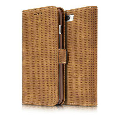 Wkae Retro Matte Breatheable Air-Mesh Pu Leather Wallet Case with Kickstand Card Slots for Iphone 7 Plus And 8 PlusiPhone Cases/Covers<br>Wkae Retro Matte Breatheable Air-Mesh Pu Leather Wallet Case with Kickstand Card Slots for Iphone 7 Plus And 8 Plus<br><br>Compatible for Apple: iPhone 7 Plus, iPhone 8 Plus<br>Features: Cases with Stand, With Credit Card Holder, Anti-knock, Dirt-resistant, FullBody Cases<br>Material: TPU, PU Leather<br>Package Contents: 1 x Phone Case<br>Package size (L x W x H): 20.00 x 15.00 x 2.50 cm / 7.87 x 5.91 x 0.98 inches<br>Package weight: 0.1700 kg<br>Product size (L x W x H): 18.00 x 10.00 x 2.00 cm / 7.09 x 3.94 x 0.79 inches<br>Product weight: 0.1500 kg<br>Style: Vintage, Solid Color