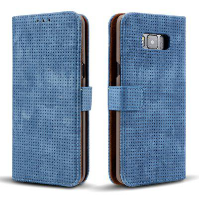 Wkae Retro Matte Breatheable Air-mesh PU Leather Wallet Case Cover with Kickstand Card Slots for Samsung Galaxy S8 PlusWkae Retro Matte Breatheable Air-mesh PU Leather Wallet Case Cover with Kickstand Card Slots for Samsung Galaxy S8 Plus<br><br>Features: Full Body Cases, Cases with Stand, With Credit Card Holder, Anti-knock, Dirt-resistant<br>For: Samsung Mobile Phone<br>Material: TPU, PU Leather<br>Package Contents: 1 x Phone Case<br>Package size (L x W x H): 20.00 x 15.00 x 2.50 cm / 7.87 x 5.91 x 0.98 inches<br>Package weight: 0.1700 kg<br>Product size (L x W x H): 18.00 x 10.00 x 2.00 cm / 7.09 x 3.94 x 0.79 inches<br>Product weight: 0.1500 kg<br>Style: Vintage, Solid Color
