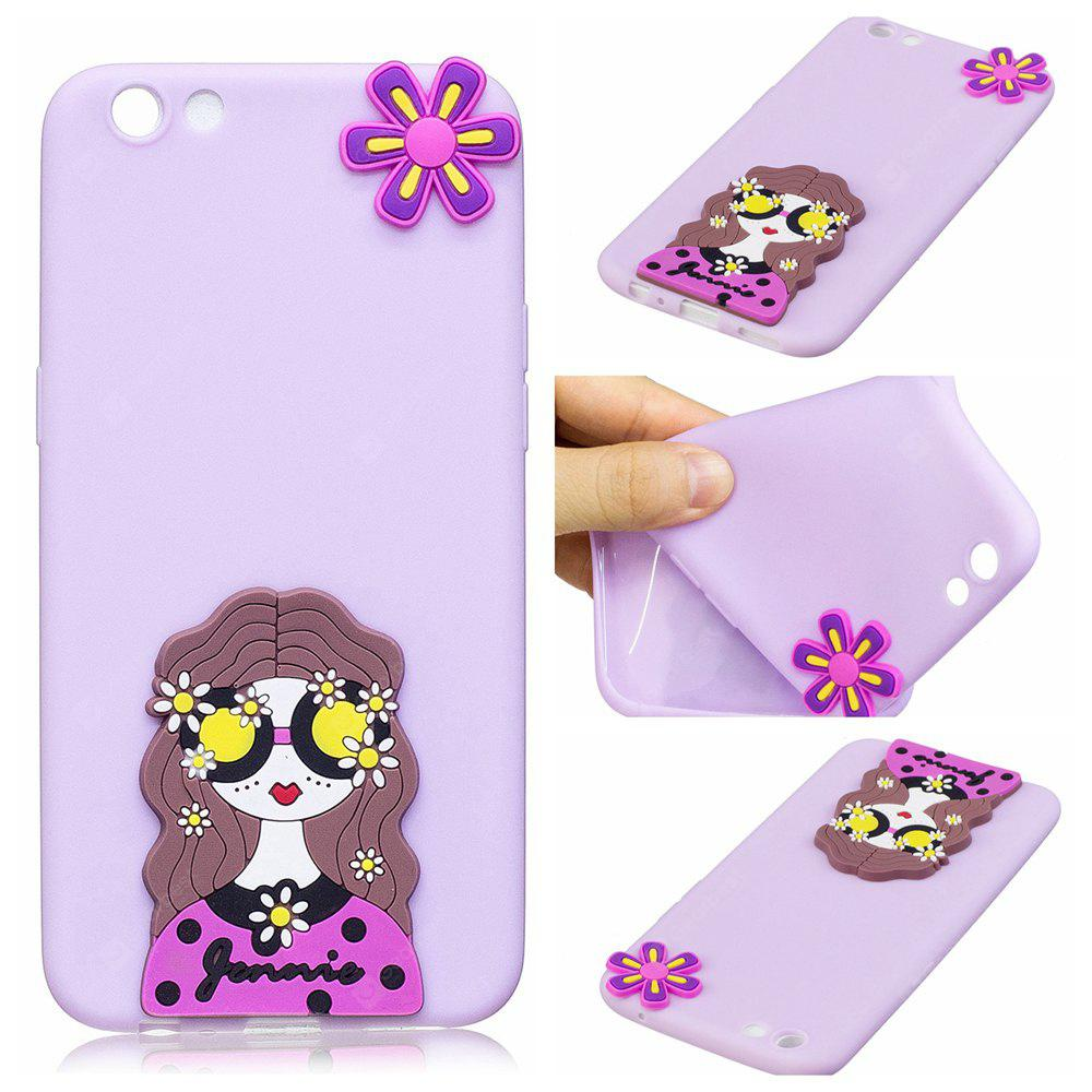 3D Cute Candy Pattern Silicone Soft Back Case for OPPO R9S