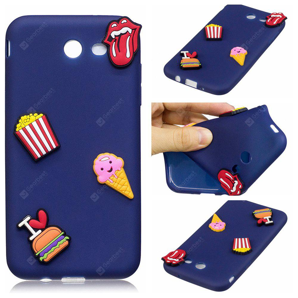 3D Cute Candy Pattern Silicone Soft Back Case for Samsung Galaxy J5 2017 (America Edition)