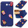 3D Cute Candy Pattern Silicone Soft Back Case for Samsung Galaxy J5 2017 (America Edition) - CADETBLUE