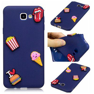 3D Cute Candy Pattern Silicone Soft Back Case for Samsung Galaxy J5 Prime