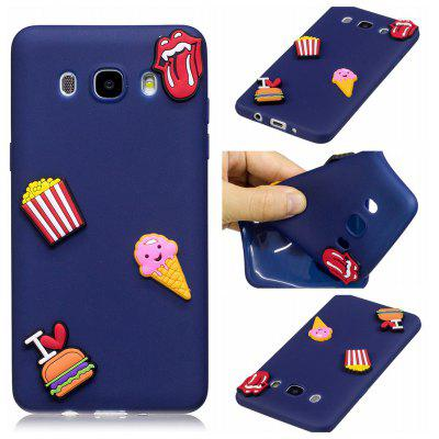 3D Cute Candy Pattern Silicone Soft Back Case for Samsung Galaxy J7 2016