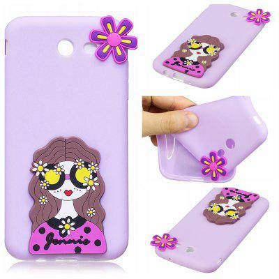 3D Cute Candy Pattern Silicone Soft Back Case for Samsung Galaxy J7 2017 (America Edition)