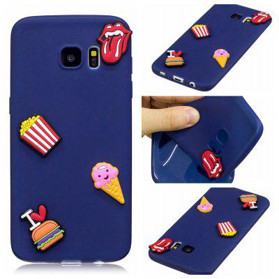 3D Cute Candy Pattern Silicone Soft Back Case for Samsung Galaxy S7