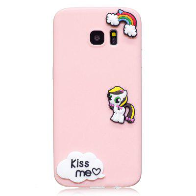 3D Cute Candy Pattern Silicone Soft Back Case for Samsung Galaxy S7 EdgeSamsung S Series<br>3D Cute Candy Pattern Silicone Soft Back Case for Samsung Galaxy S7 Edge<br><br>Features: Back Cover<br>Material: Silicone<br>Package Contents: 1 x Silicone Soft Back Case<br>Package size (L x W x H): 10.00 x 10.00 x 5.00 cm / 3.94 x 3.94 x 1.97 inches<br>Package weight: 0.0500 kg<br>Product weight: 0.0200 kg<br>Style: Pattern, Cute, Novelty, Funny