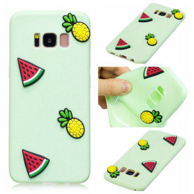 3D Cute Candy Pattern Silicone Soft Back Case for Samsung Galaxy S8