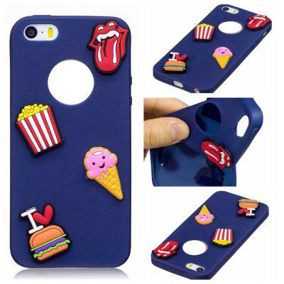 3D Cute Candy Pattern Silicone Soft Back Case for Samsung Galaxy S8 Plus