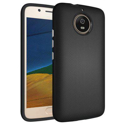 Buy BLACK Non-slip Surface Shockproof Back PC Case for Motorola Moto G5S for $4.18 in GearBest store