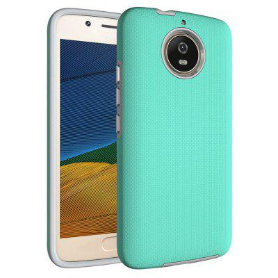 Buy GREEN Non-slip Surface Shockproof Back PC Case for Motorola Moto G5S for $4.18 in GearBest store