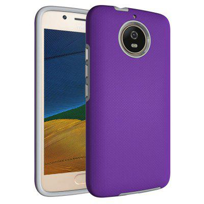 Buy PURPLE Non-slip Surface Shockproof Back PC Case for Motorola Moto G5S for $4.18 in GearBest store