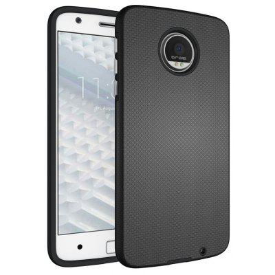Buy BLACK Non-slip Surface Shockproof Back PC Case for Motorola Moto Z for $4.18 in GearBest store