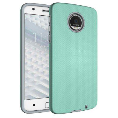 Buy GREEN Non-slip Surface Shockproof Back PC Case for Motorola Moto Z for $4.18 in GearBest store