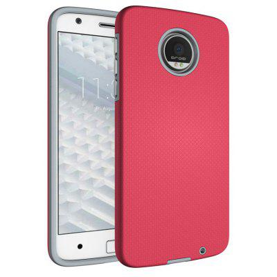 Buy RED Non-slip Surface Shockproof Back PC Case for Motorola Moto Z for $4.18 in GearBest store
