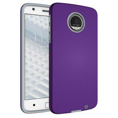 Buy PURPLE Non-slip Surface Shockproof Back PC Case for Motorola Moto Z for $4.18 in GearBest store